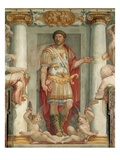 Roman Legionnaire Fresco