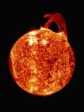Solar Prominence on Limb of Sun