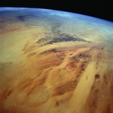 Low-Earth-Orbit View of the Sahara in Eastern Chad