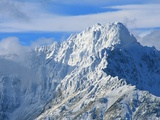 Mountain Peak in Saint Elias Range