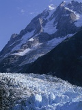 Mount Orville Above Johns Hopkins Glacier in Alaska