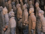 Terracotta Warrior Statues at Xian  China