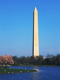 Washington Monument and Lake