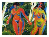 Two Nude Women in the Forest
