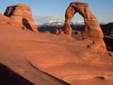 Delicate Arch in Low-Lying Sunlight