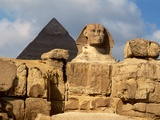 The Great Sphinx and Pyramid of Khafre
