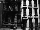 Two Apartment Buildings  Manhattan  1944