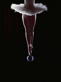 Ballerina Balancing on a Bubble