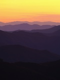 Smoky Mountains at Sunrise