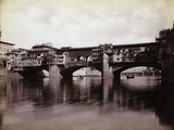 Ponte Vecchio over the River Arno in Florence