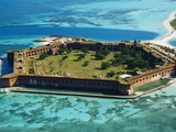Aerial View of Fort Jefferson