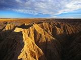 Badland Rock Formations
