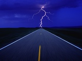 Road and Lightning