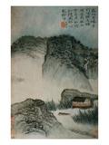 View of a House in the Mountains from an Album of Twelve Landscape Paintings