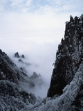Winter in Huangshan Mountains