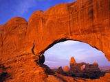 Double Arch at Sunrise
