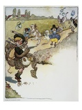 Illustration for Mother Goose Stories by Fanny Cory