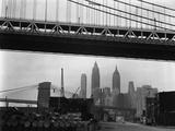 Cityscape  Manhattan  1944