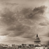 Overcast Sky and Pantheon Dome