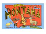 Greetings from Philipsburg  Montana