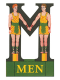 M is For Men