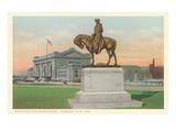 Washington Statue  Kansas City  Missouri