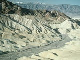 Zabriskie Point Badlands