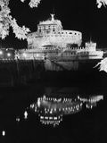 St Angelo Castle Reflecting in the Tiber River