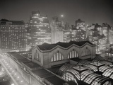 Skyline of Manhattan with Pennsylvania Station Area