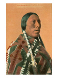Man-Going-Uphill  Arapaho Indian