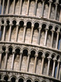 Arcades of the Leaning Tower of Pisa