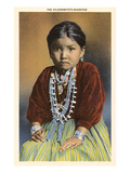 Silversmith's Daughter  Navajo Girl