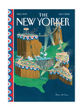 The New Yorker Cover - January 9  2012