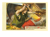 Siegfried Slaying Dragon