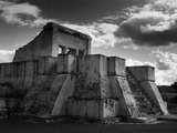 Temple Ruins in Mexico by Brett Weston