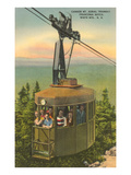 Aerial Tramway  Franconia Notch  New Hampshire
