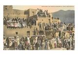 Taos Pueblo Indian Dances  New Mexico