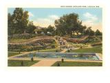 Rock Garden  Antelope Park  Lincoln  Nebraska