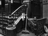 Stairway With Broom  Manhattan  1945