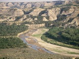 Badlands and Little Missouri River