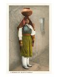 Isleta Pueblo Woman  New Mexico