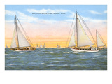 Mackinac Races  Port Huron  Michigan