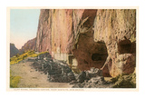 Cliff Ruins  Bandolier Park  New Mexico