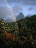 Rainbow near Petit Piton