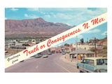 Greetings from Truth or Consequences  New Mexico