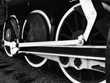 Locomotive Wheels by Brett Weston
