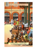 Pottery Market  Puebla  Mexico