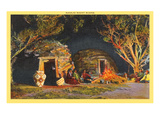 Navajo Night Scene