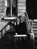 Stairway Bannister With Diagonal Shadow  Manhattan  1944