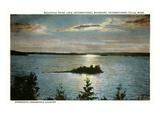 Rainy Lake  International Falls  Minnesota